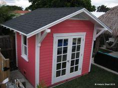 custom gable hipped mimo garden sheds in florida - Garden Sheds Florida