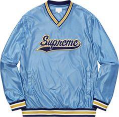 Supreme - Baseball Warmup Top