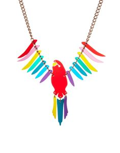 Tatty Devine - Parakeet Necklace