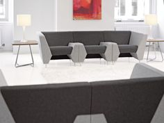KI introduces #MyWay — adaptive #lounge #seating that anticipates your every move. With MyWay, you can comfortably connect, collaborate and socialize on your terms. In postures that adapt to your every need. It's the most accommodating way to work, learn and relax your way. Designed with technology in mind, MyWay's unique arm styles easily accommodate a wide range of devices, technology and power support. Learn more at www.ki.com/myway