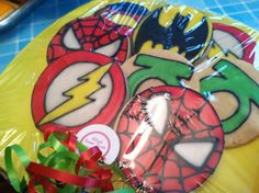Super Hero Cookies by AlliesSweetTooth on Etsy
