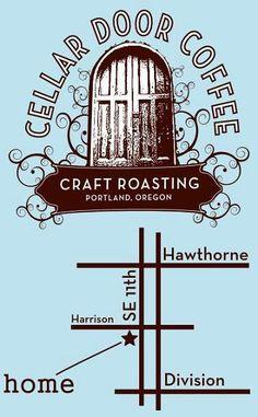 cellar door coffee roasters = Portland, Oregon