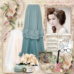 How To Wear Victorian Date Night Style Outfit Idea 2017 - Fashion Trends Ready To Wear For Plus Size, Curvy Women Over 20, 30, 40, 50