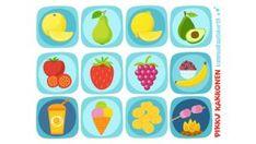 Pikku Kakkosen kommunikaatiokortit | Pikku Kakkonen | Lapset | yle.fi Sugar, Cookies, Desserts, Food, Crack Crackers, Tailgate Desserts, Biscuits, Dessert, Cookie Recipes