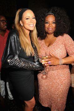 Mariah Carey And Oprah Winfrey | GRAMMY.com