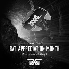 """Purchase a new Bat Attack Putter & help """"spread awareness"""" about how Bat Attacks are common on the greens these days. Click the link in our bio to view more details. #BatAppreciation #PXG"""