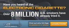 Have you heard of Electronic Cigarettes? V2Cigs, cigarrillos electronicos, ecigs, eliquids, vapor, coupon SOFLA 15 for all KITS, SOFLA10 for accessories, cigarrillo electrico, cigarro, cigarrillo, cartomizer, cartucho, humo, smoke, vapor