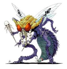 Beelzebub from Shin Megami Tensei II