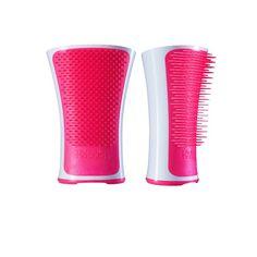 Tangle Teezer - Escova Aqua Splash - Pink Shrimp :: For You Cosméticos - Desenvolvida especialmente para desembaraçar seus cabelos no banho, mar ou piscina, sem agredir os fios.