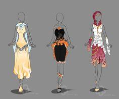 Fantasy Design Adopts #5 - sold by Nahemii-san on deviantART