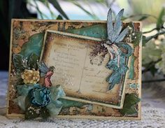 A Touch of Grace » Graphic 45 – Vintage Blue Fairy