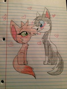 Dog and cat love request @augustarose25