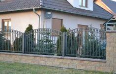 Przęsło brama ogrodzenie metalowe