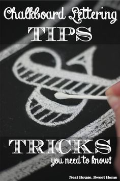 Find out how to make flawless chalkboard lettering with basic skills. I read many tutorials but couldn't believe how easy it was until I tried it myself.