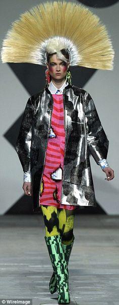 From London Fashion Week 2012 - Punk Era