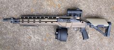 Lightest aluminum m1a chassis Blackfeather by m1a.ca