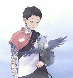 The Last Guardian, a trico kit Fantasy Creatures, Mythical Creatures, Anime Plus, Character Art, Character Design, Anime Pictures, Pokemon, Geek Games, Fan Art