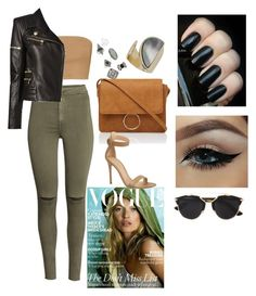 """#26"" by luditrend on Polyvore featuring Balmain, Topshop, Christian Dior, Gianvito Rossi, women's clothing, women, female, woman, misses and juniors"