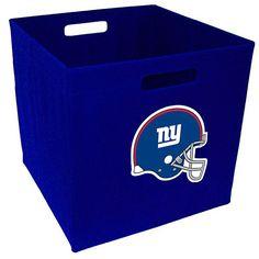 New York Giants Storage Cube
