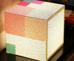 Labyrinth Light Cube - https://tiwib.co/labyrinth-light-cube/ #LightsClocks #gifts #giftideas #2017giftideas #xmas