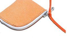 Blythe Leonard Leather Zippered Change Purse, Made in USA http://www.blytheleonard.com/#!change-purse/wlzl6