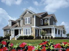 House Plan - Foxborough Hill - Stephen Fuller, Inc. - another view.