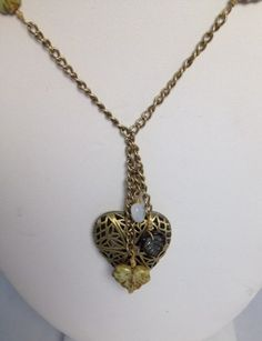 Antique Bronze Essential Oil Diffuser Locket | wrappedelegance - Jewelry on ArtFire
