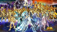 Saint Seiya Soldiers Soul Wallpaper All Characters Medvedeva, All Saints, Hd Wallpaper, Anime, Deviantart, Manga, Comics, Soldiers, Painting