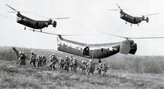"""The Piasecki HRP-1, the first U.S. military helicopter in service with significant transport capability, its distinctive shape soon earned it the nickname """"The Flying Banana""""."""