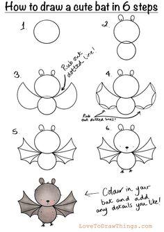 Easy Doodles Drawings, Easy Doodle Art, Cute Easy Drawings, Art Drawings For Kids, Simple Doodles, Cute Doodles, Drawing For Kids, Art For Kids, How To Doodle