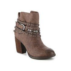 Women's Women Not Rated Alexandrite Western Bootie -Brown - Brown High Heel Cowboy Boots, Short Cowgirl Boots, Short Boots, Western Boots, Cute Shoes, Ankle Booties, Alexandrite, Coloured Leggings, Play Dress
