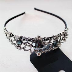 ファッション新しい花嫁ヘアアクセサリー王冠の形のヘアピンヘアアクセサリーヨーロッパ米国外国貿易ジュエリー卸売
