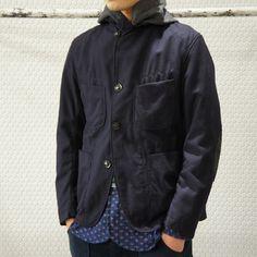 BEDFORD JACKET - VANS - Uniform Serge / Navy / ¥49,350-