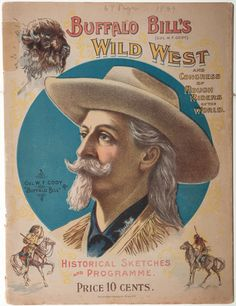 Buffalo Bill's Wild West and Congress of Rough Riders of the World Program, 1899