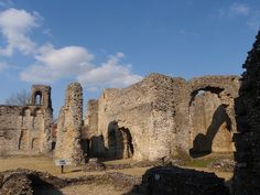 Wolvesey Castle, Winchester, England
