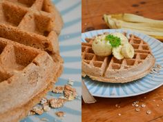 Zuckerfreies Frühstück: Waffeln mit nur 3 Zutaten