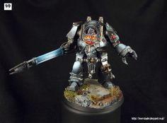 40k - Black Legion Contemptor Dreadnought