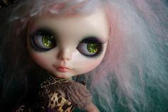 A-Dong's Custom Blythe doll No.52 *Graceful Wildness* by 阿冬A-Dong, via Flickr