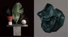 Left : Page Thirty Three / Right : Thomas Browns, Norman Copenhagen chez Fleux. via Goodmoods