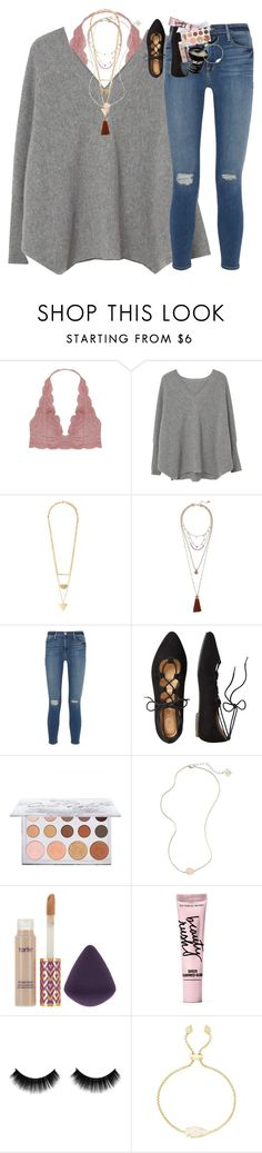"""even though it's 9:43 :)"" by classynsouthern ❤ liked on Polyvore featuring Humble Chic, MANGO, Forever 21, Vince Camuto, Frame, TravelSmith, Kendra Scott, tarte and Beauty Rush"