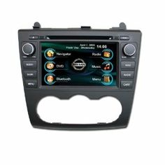 152 best electronics car vehicle electronics images on pinterest oem replacement in dash radio dvd gps navigation headunit for nissan altima manual ac fandeluxe Gallery