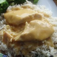 Slow Cooker Dump and Go Cheesy Chicken