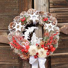 Hydrangea / Vianočný veniec so snehuliakom Christmas Wreaths, Holiday Decor, Home Decor, Decoration Home, Room Decor, Home Interior Design, Home Decoration, Interior Design