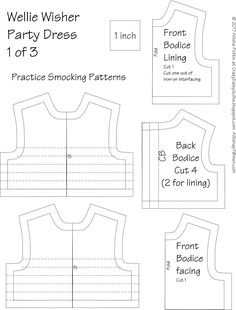 Résultat d'images pour Free Printable Doll Clothes Patterns Wellie Wishers American Girl Outfits, American Doll Clothes, Baby Doll Clothes, Sewing Clothes, Doll Dress Patterns, Clothing Patterns, Free Doll Clothes Patterns, Punto Smok, American Girl Wellie Wishers