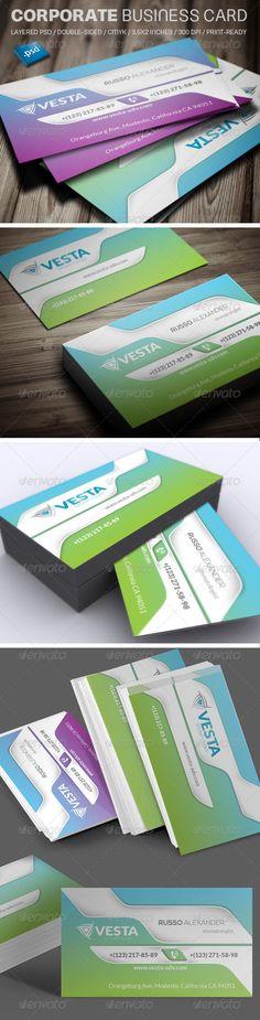Corporate business cards bundle 1 corporate business business corporate business card v530 colourmoves