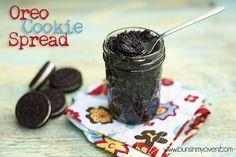 oreo cookie spread