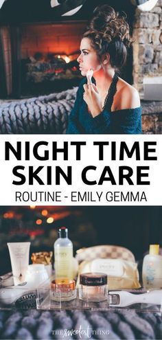 Complete Night time Skin Care Routine. Emily Gemma's Skincare routine. The Sweetest Thing Blog Beauty tips Natural Hair Mask, Natural Hair Styles, The Sweetest Thing Blog, Skin Tag Removal, Get Rid Of Blackheads, Younger Looking Skin, Clean Face, Beauty Routines, Skincare Routine
