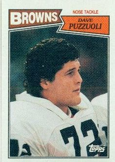 1987 Topps #95 Dave Puzzuoli - Cleveland Browns (Football Cards) by Topps. $0.88. 1987 Topps #95 Dave Puzzuoli - Cleveland Browns (Football Cards)