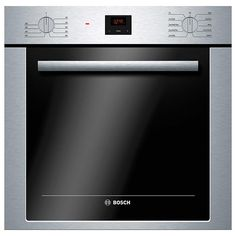 """Bosch - HBE5451UC - 500 Series 24"""" Single Wall Oven - Stainless Steel   Sears Outlet"""