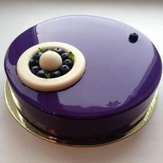 glaçage miroir, idée de tarte nonconventionnelle